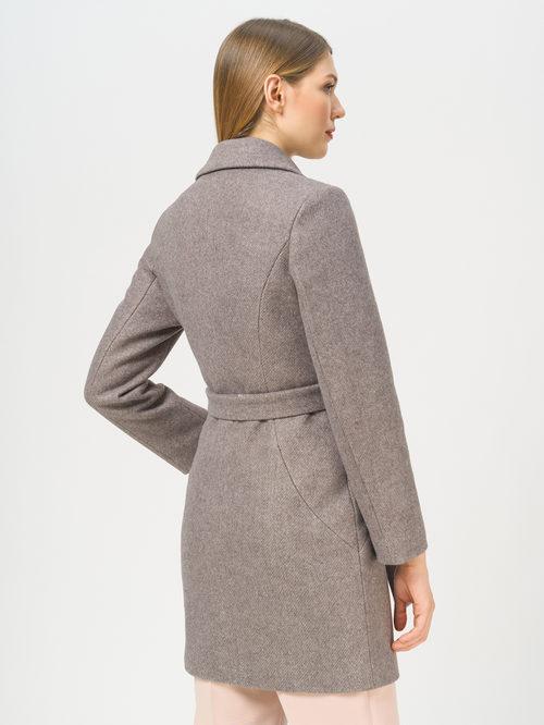 Текстильное пальто артикул 07810042/46 - фото 3