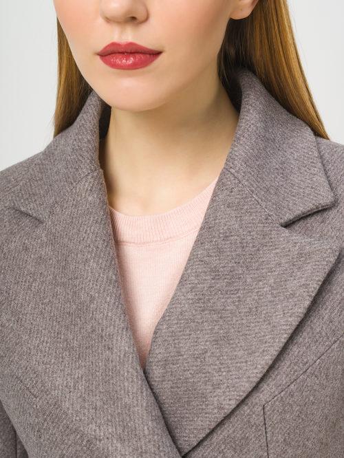 Текстильное пальто артикул 07810042/46 - фото 4