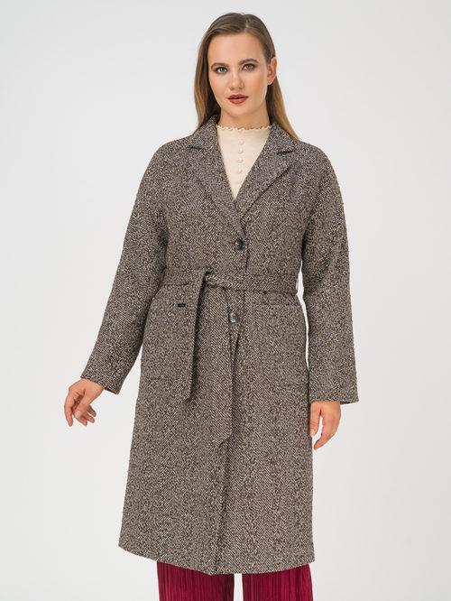 Текстильное пальто артикул 07810100/46 - фото 2