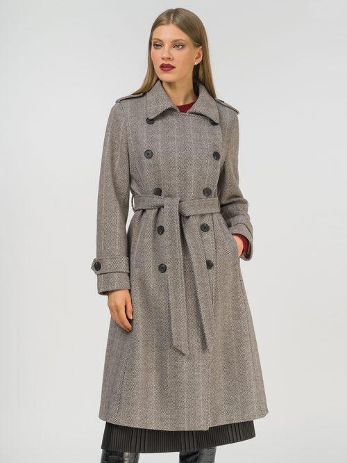 Текстильное пальто артикул 07810113/46 - фото 2