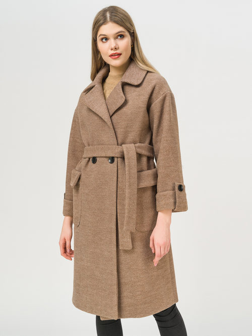 Текстильное пальто артикул 07810115/48 - фото 2