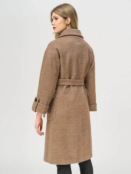 Текстильное пальто артикул 07810115/48 - фото 3