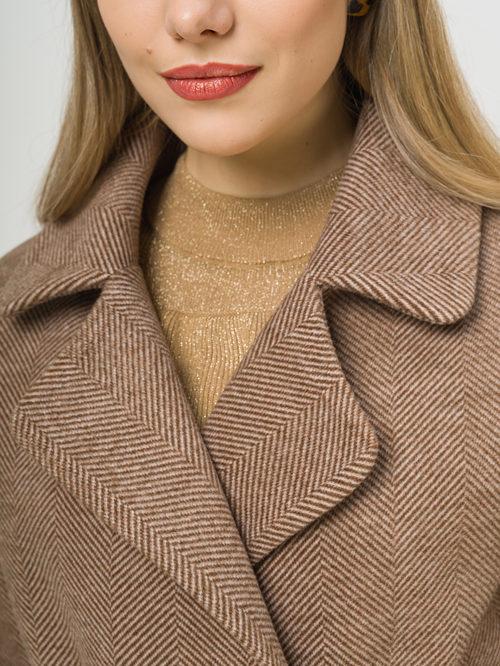 Текстильное пальто артикул 07810115/48 - фото 4