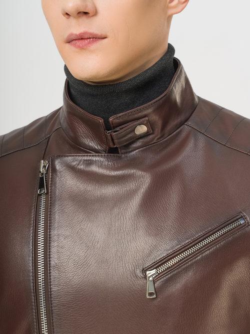 Кожаная куртка артикул 07810190/46 - фото 4