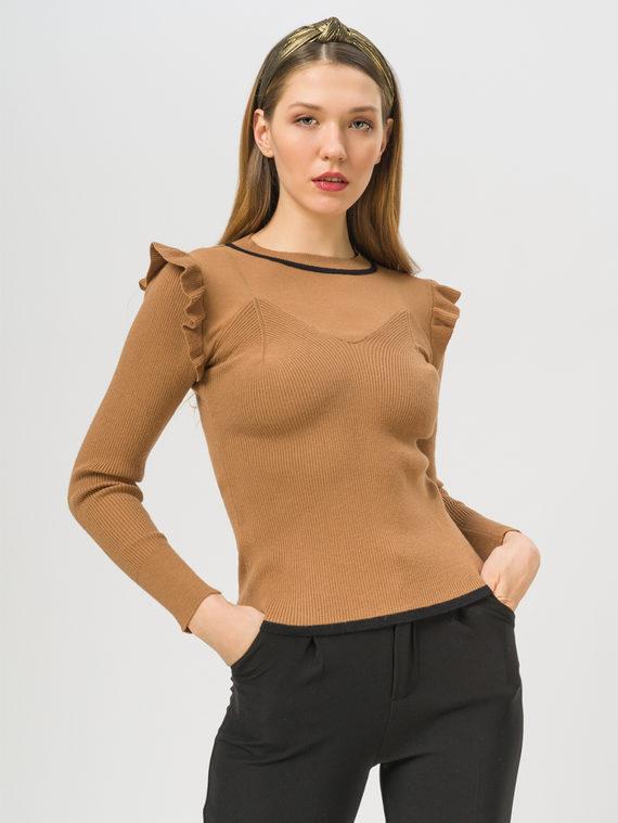 Джемпер , цвет коричневый, арт. 07810242  - цена 990 руб.  - магазин TOTOGROUP