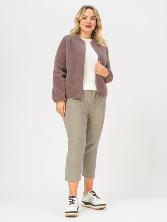 Текстильная куртка 100% полиэстер, цвет коричневый, арт. 07810258  - цена 4490 руб.  - магазин TOTOGROUP