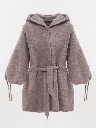 Текстильная куртка 100% полиэстер, цвет коричневый, арт. 07810265  - цена 3390 руб.  - магазин TOTOGROUP