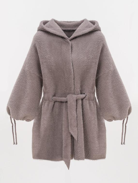 Текстильная куртка 100% полиэстер, цвет коричневый, арт. 07810265  - цена 4490 руб.  - магазин TOTOGROUP