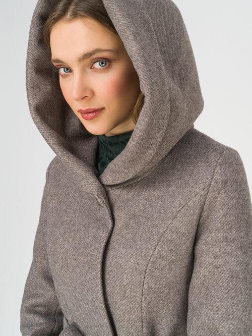 Текстильное пальто артикул 07810658/42 - фото 3