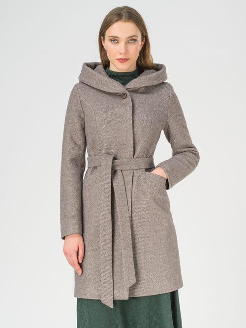 Текстильное пальто артикул 07810658/42