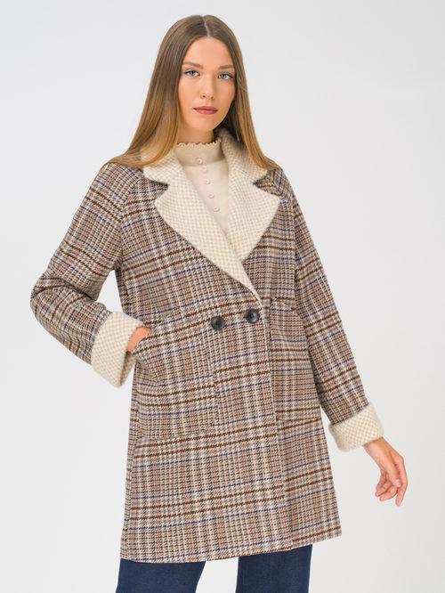 Текстильное пальто артикул 07810745/44 - фото 2