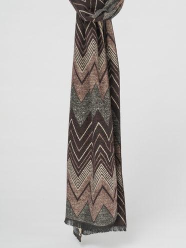 Шарф 70% акрил,25% шерсть,5% кашемир, цвет коричневый, арт. 07811006  - цена 1490 руб.  - магазин TOTOGROUP