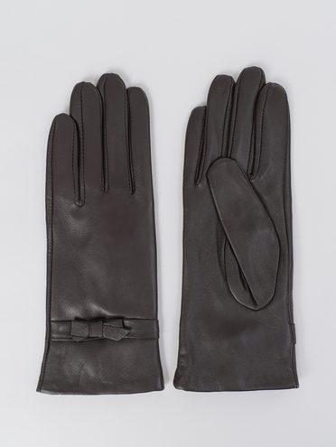 Перчатки кожа, цвет коричневый, арт. 07811068  - цена 1660 руб.  - магазин TOTOGROUP