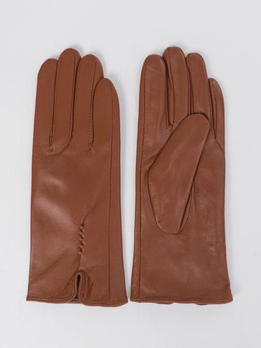 Перчатки кожа, цвет коричневый, арт. 07811070  - цена 1070 руб.  - магазин TOTOGROUP