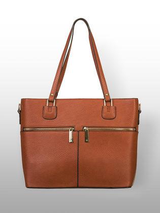 Сумка эко кожа флоттер, цвет коричневый, арт. 07903308  - цена 2990 руб.  - магазин TOTOGROUP