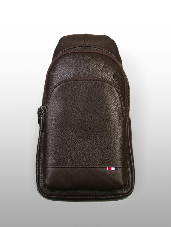 Сумка кожа флоттер, цвет коричневый, арт. 07903327  - цена 2840 руб.  - магазин TOTOGROUP