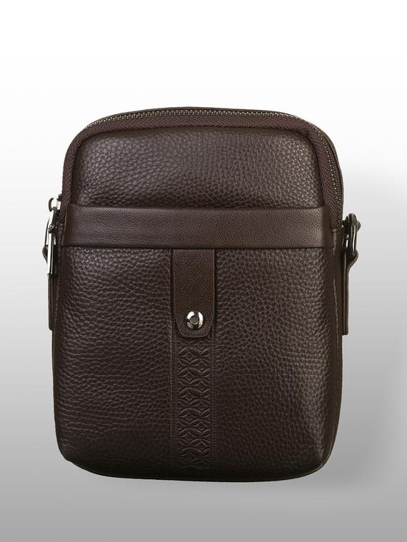 Сумка кожа флоттер, цвет коричневый, арт. 07903332  - цена 2840 руб.  - магазин TOTOGROUP