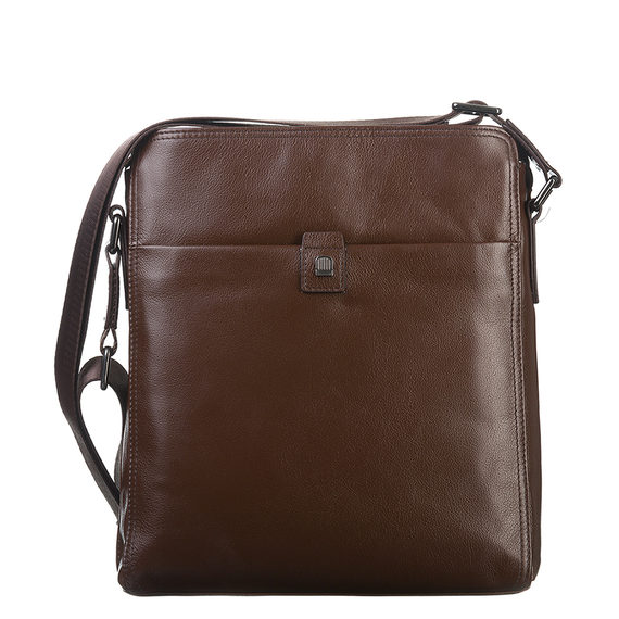 Сумка кожа теленок, цвет коричневый, арт. 07903339  - цена 3390 руб.  - магазин TOTOGROUP