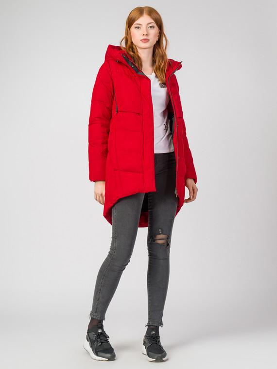 Пуховик текстиль, цвет красный, арт. 08000633  - цена 6990 руб.  - магазин TOTOGROUP