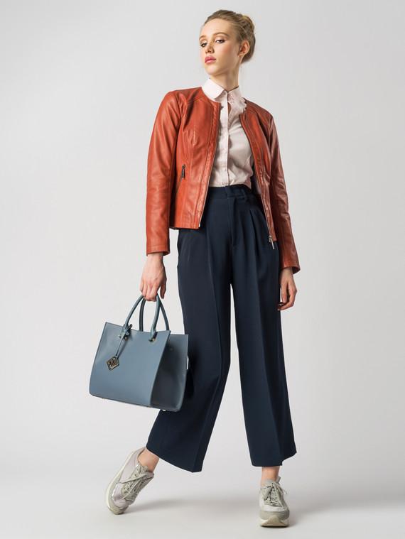 Кожаная куртка кожа , цвет рыжий, арт. 08005505  - цена 8990 руб.  - магазин TOTOGROUP