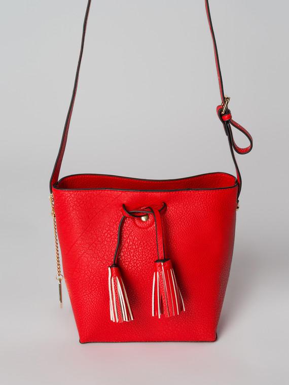 Сумка эко кожа флоттер, цвет красный, арт. 08006099  - цена 2290 руб.  - магазин TOTOGROUP