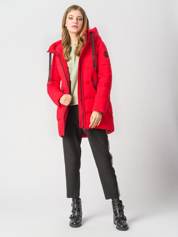 Пуховик текстиль, цвет красный, арт. 08006260  - цена 6290 руб.  - магазин TOTOGROUP