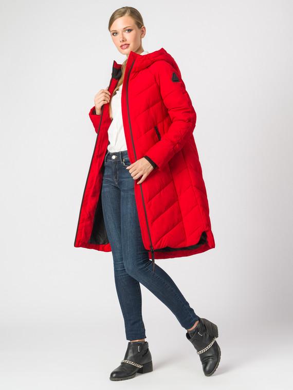 Пуховик текстиль, цвет красный, арт. 08006266  - цена 6290 руб.  - магазин TOTOGROUP