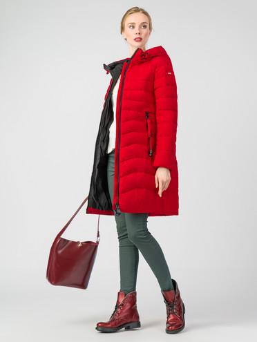 Пуховик текстиль, цвет красный, арт. 08006281  - цена 4490 руб.  - магазин TOTOGROUP