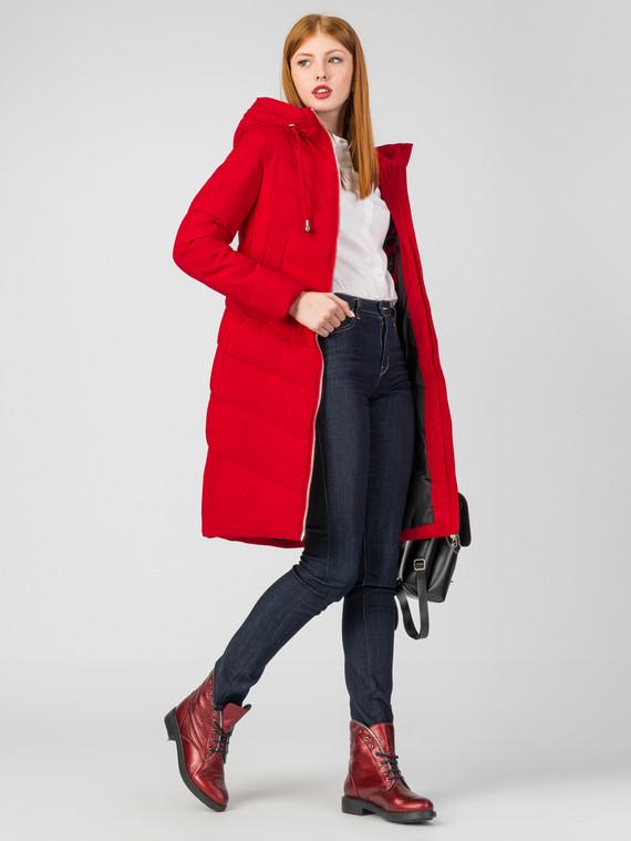 Пуховик текстиль, цвет красный, арт. 08006312  - цена 4490 руб.  - магазин TOTOGROUP