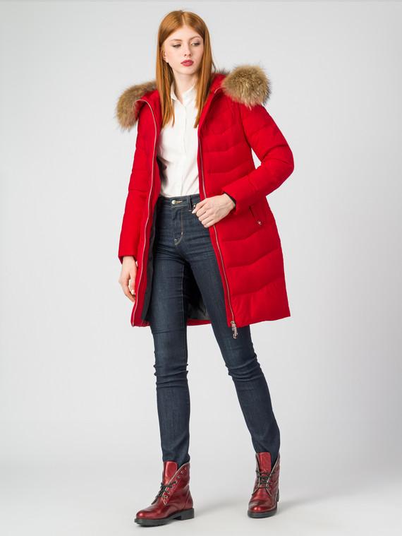 Пуховик текстиль, цвет красный, арт. 08006317  - цена 6990 руб.  - магазин TOTOGROUP