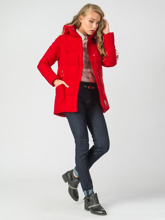 Пуховик текстиль, цвет красный, арт. 08006486  - цена 4990 руб.  - магазин TOTOGROUP