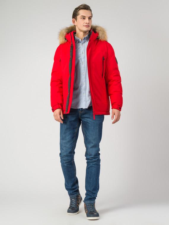 Пуховик текстиль, цвет красный, арт. 08006509  - цена 11990 руб.  - магазин TOTOGROUP