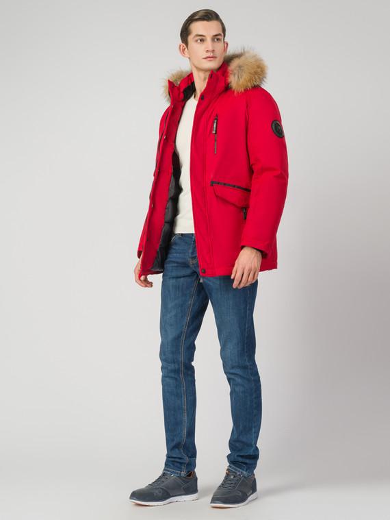 Пуховик текстиль, цвет красный, арт. 08006510  - цена 7990 руб.  - магазин TOTOGROUP