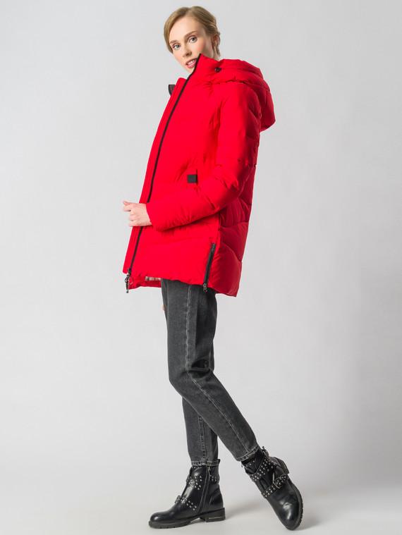 Пуховик текстиль, цвет красный, арт. 08006574  - цена 6630 руб.  - магазин TOTOGROUP