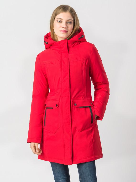 Пуховик текстиль, цвет красный, арт. 08006575  - цена 4990 руб.  - магазин TOTOGROUP