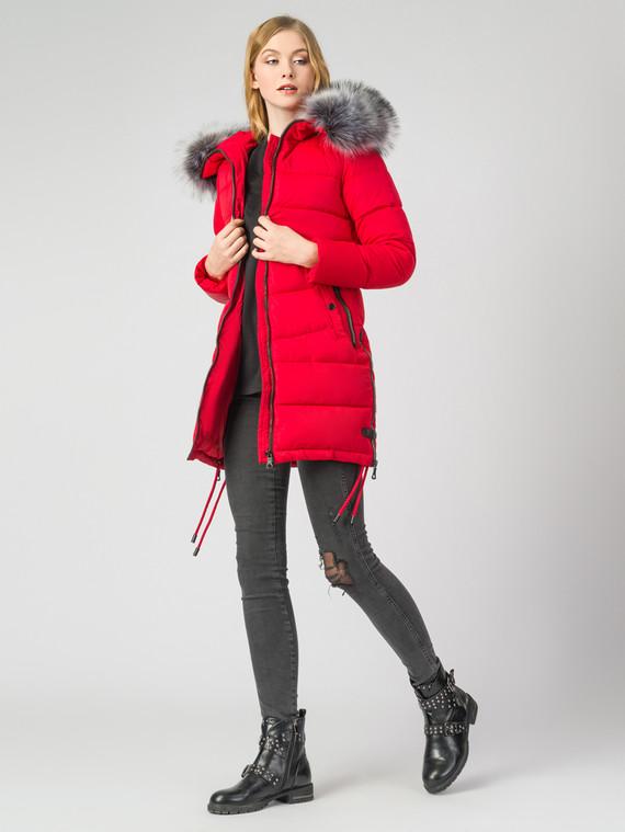 Пуховик текстиль, цвет красный, арт. 08006611  - цена 3190 руб.  - магазин TOTOGROUP