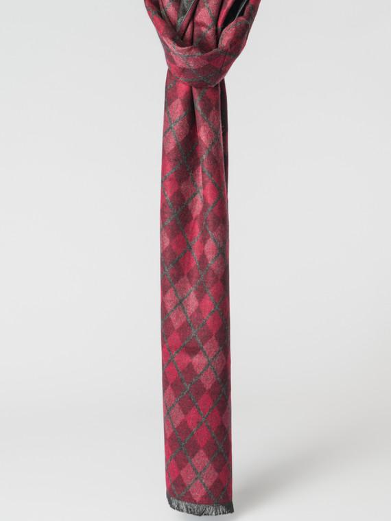 Шарф 100% кашемир, цвет красный, арт. 08007169  - цена 1130 руб.  - магазин TOTOGROUP