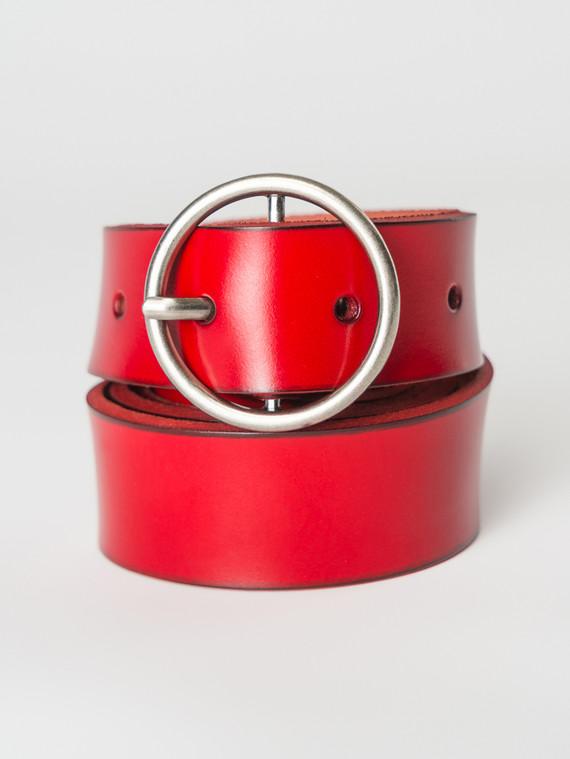 Ремень кожа теленок, цвет красный, арт. 08007256  - цена 1190 руб.  - магазин TOTOGROUP