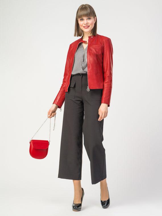 Кожаная куртка кожа , цвет красный, арт. 08106242  - цена 7990 руб.  - магазин TOTOGROUP