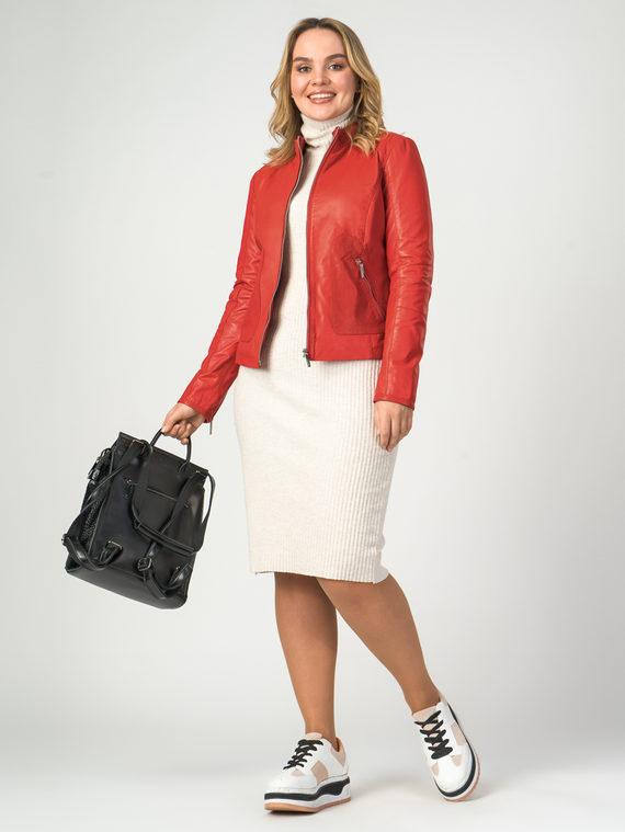 Кожаная куртка кожа , цвет красный, арт. 08106279  - цена 8990 руб.  - магазин TOTOGROUP