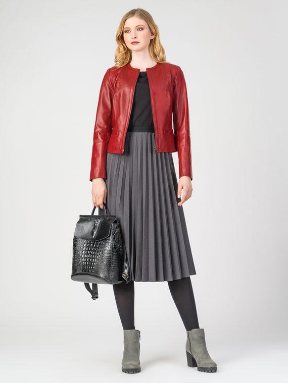 Кожаная куртка кожа , цвет красный, арт. 08106282  - цена 14190 руб.  - магазин TOTOGROUP