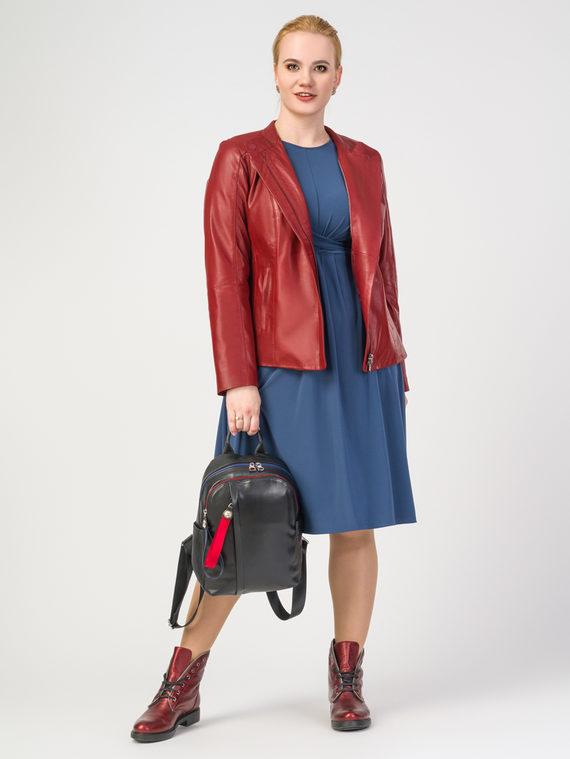 Кожаная куртка кожа , цвет красный, арт. 08106290  - цена 12690 руб.  - магазин TOTOGROUP