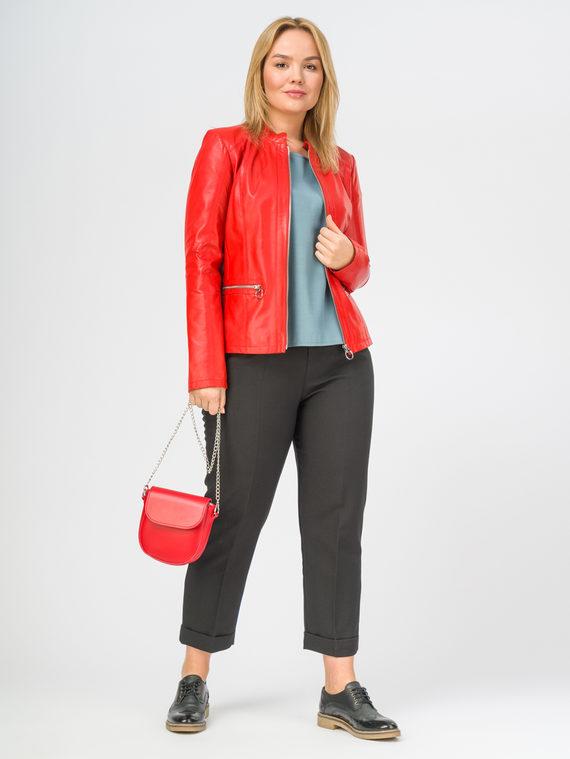 Кожаная куртка кожа , цвет красный, арт. 08106291  - цена 11290 руб.  - магазин TOTOGROUP