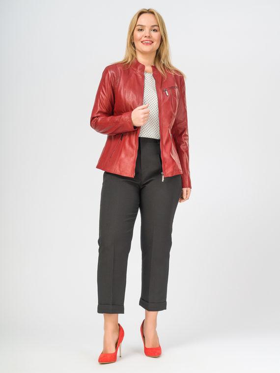 Кожаная куртка кожа , цвет красный, арт. 08106294  - цена 12690 руб.  - магазин TOTOGROUP