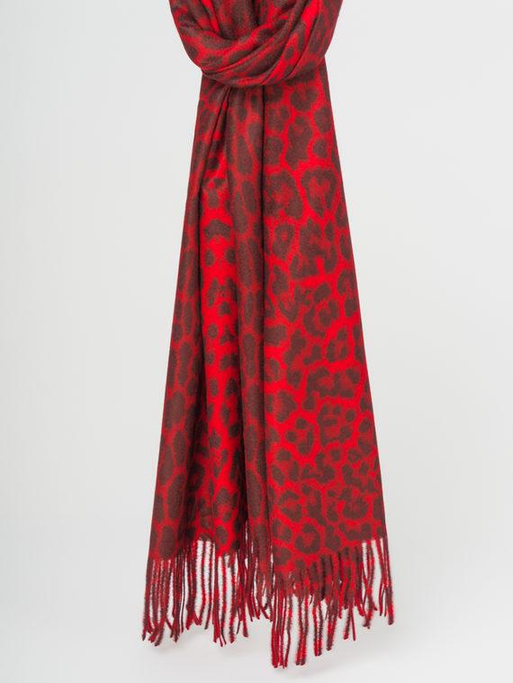 Шарф 30%хлопок,70%кашемир, цвет красный, арт. 08107787  - цена 1190 руб.  - магазин TOTOGROUP