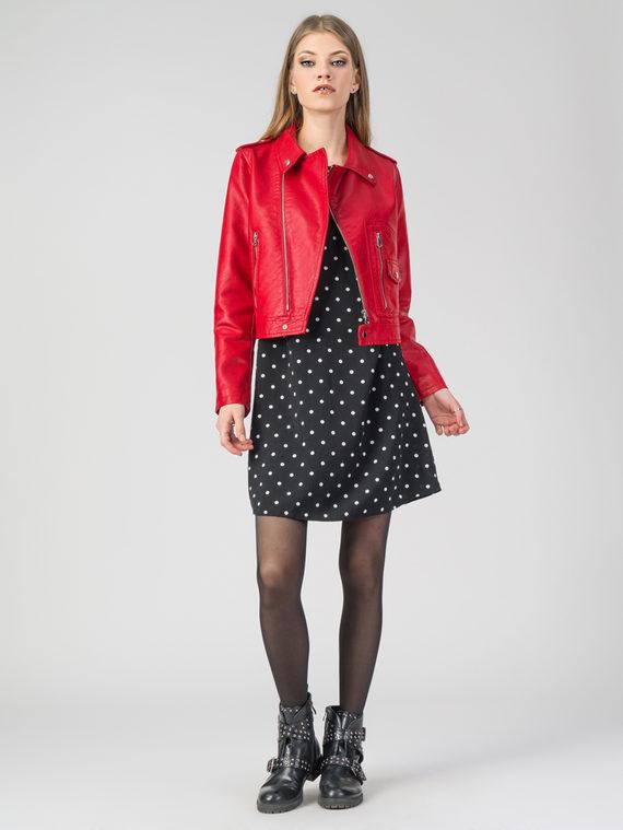Кожаная куртка эко-кожа 100% П/А, цвет красный, арт. 08107835  - цена 3590 руб.  - магазин TOTOGROUP