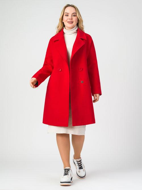 Текстильное пальто артикул 08107897/56
