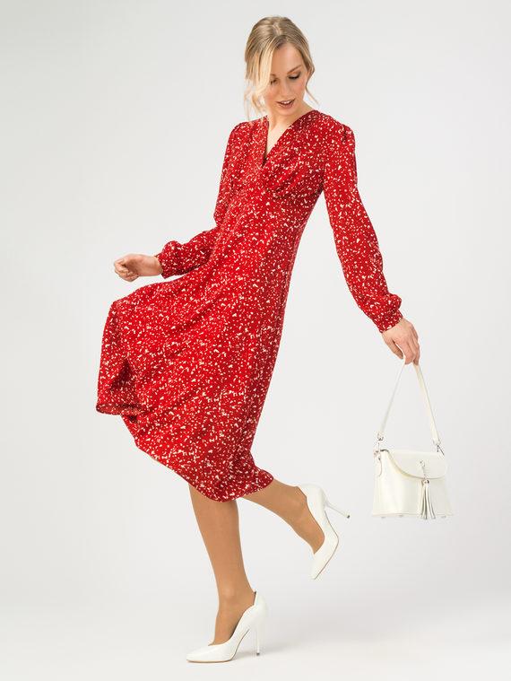 Платье 100% полиэстер, цвет красный, арт. 08108411  - цена 1570 руб.  - магазин TOTOGROUP