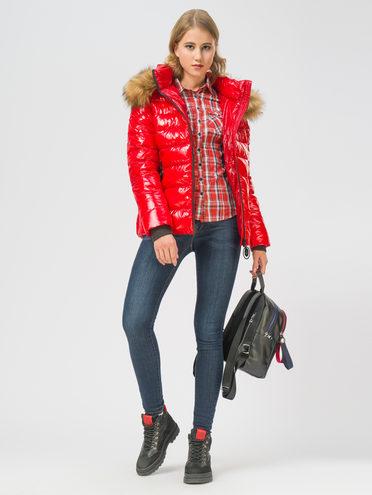 ПУХОВИК 100% полиэстер, цвет красный, арт. 08108565  - цена 4990 руб.  - магазин TOTOGROUP