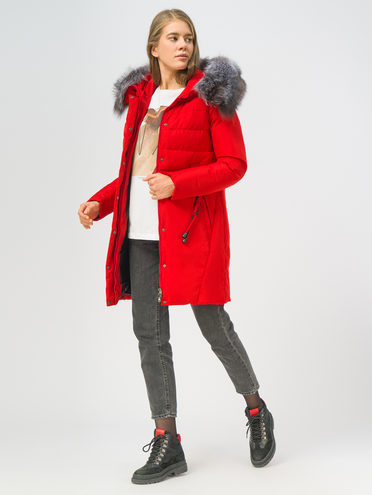 Пуховик 100% полиэстер, цвет красный, арт. 08108567  - цена 8990 руб.  - магазин TOTOGROUP